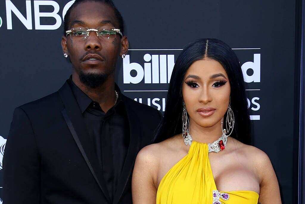 Cardi B's husband Offset has 3200 pairs of shoes!