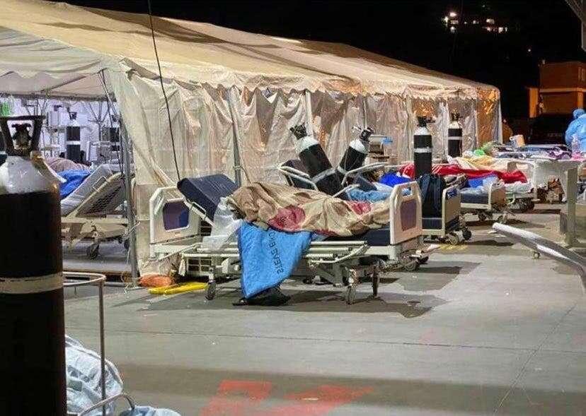 Covid-19 surge: Shocking scenes emerge from Steve Biko hospital