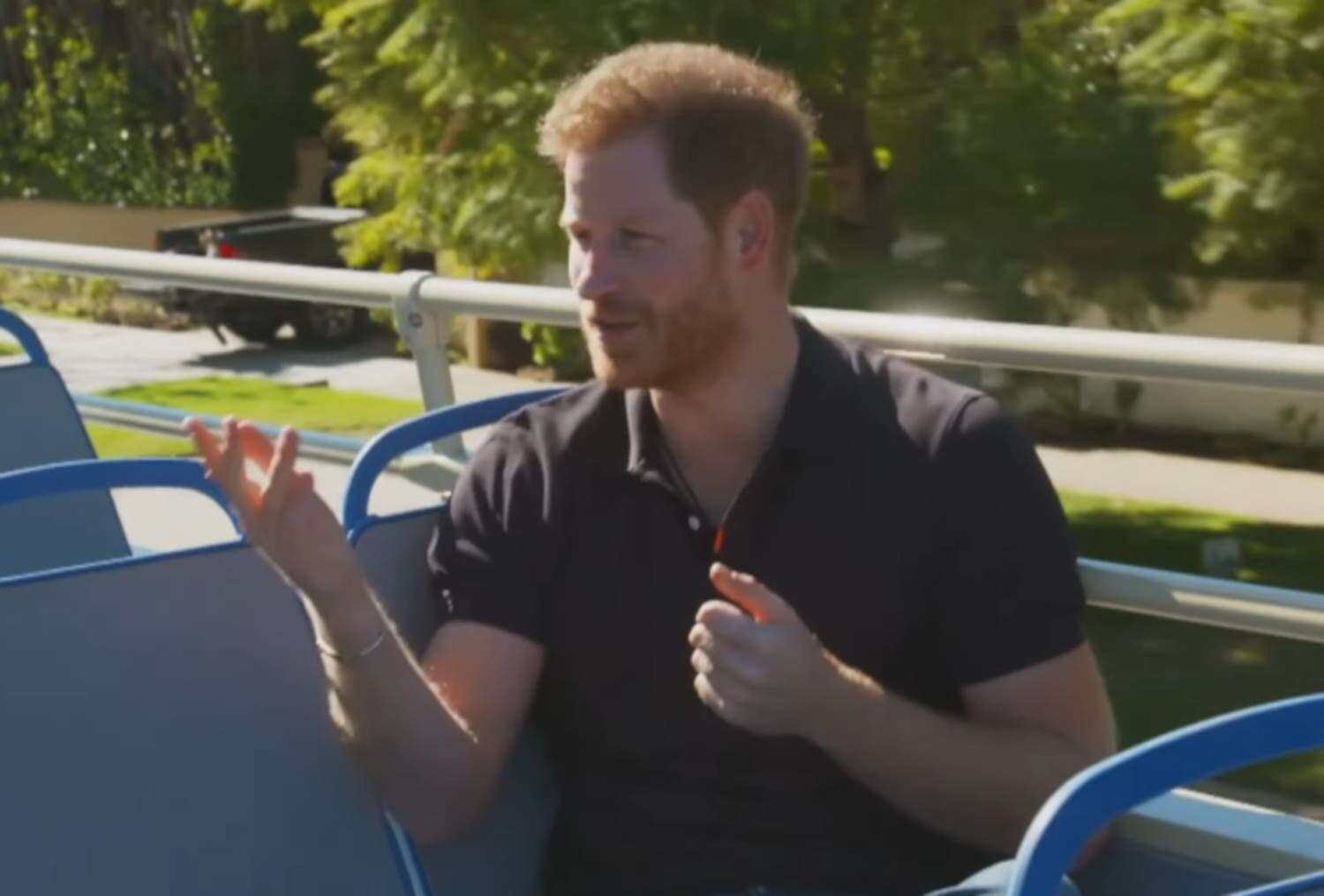 Prince Harry talks about stepping away from royal duties, says he did what any husband & father would have done