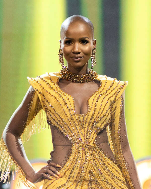 Miss South Africa expresses desire to be a President