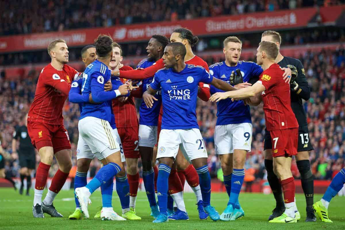 PREMIER LEAGUE MATCHDAY: Injury-stricken Liverpool taken on Leicester City at the Anfield