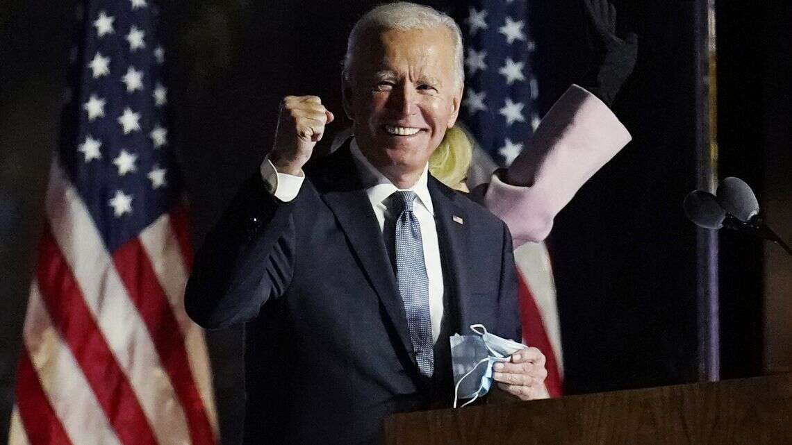JUST IN: Joe Biden Becomes 46th President Of United States