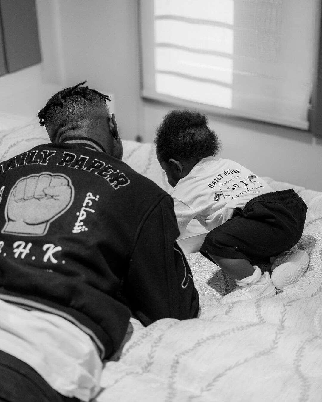 Rapper, Zlatan Ibile shares adorable photos of himself and his son