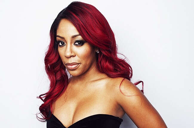 Wathch the moment  Singer K.Michelle's butt implant deflated while twerking on Instagram live