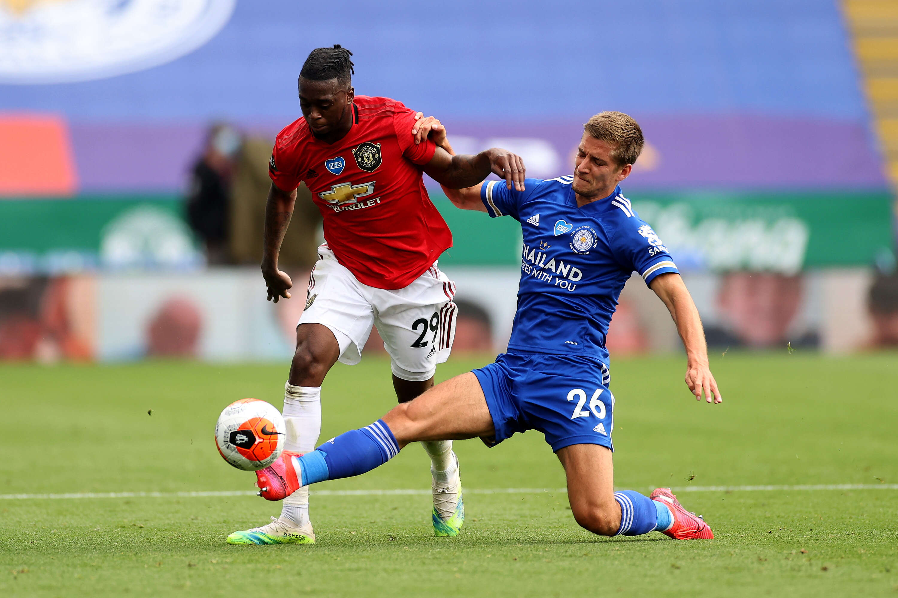 Leicester city take on Manchester United as Premier League actions return on Boxing Day