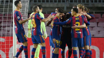 Messi excluded as Dynamo Kiev take on Barcelona in the UEFA Champions League Round 4
