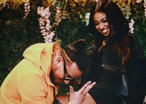 AKA says his recently engaged fiancée doesn't know any of his songs