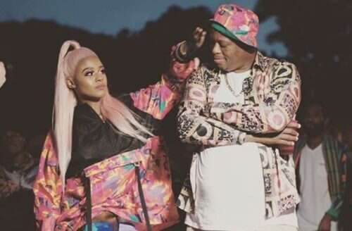 Photos from Babes Wodumo and Mampintsha's traditional wedding