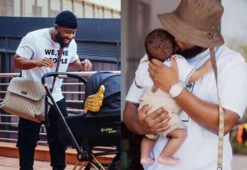 Cassper Nyovest's son, Khotso gets baptized (Video)
