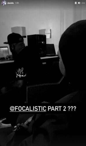 Davido & Focalistic preview their forthcoming single