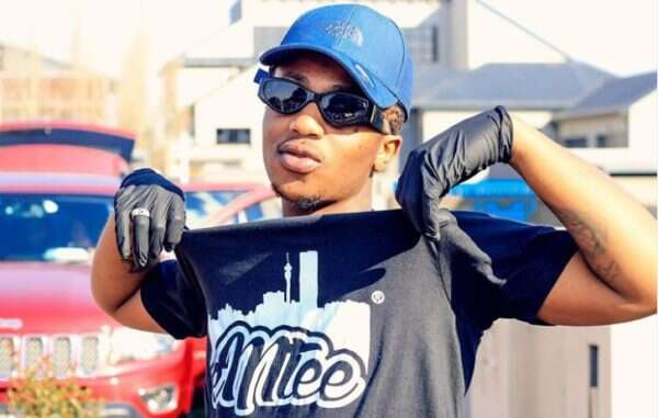 Watch: Emtee reacts to a video of him getting drunk shared by his babymama