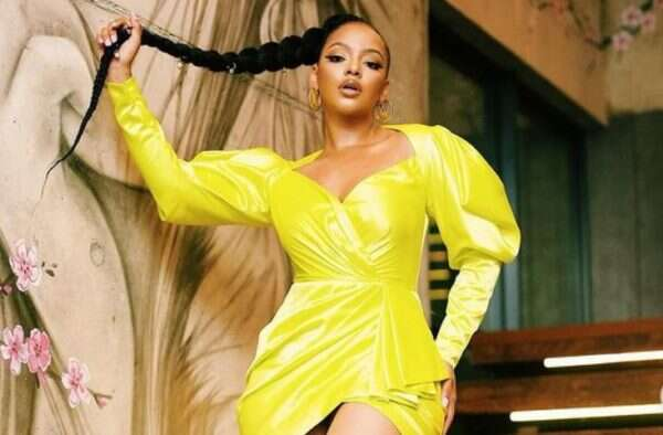 Mihlali Ndamase professes love for her man – Fans react