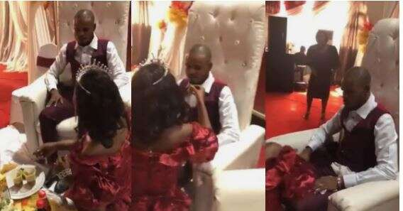 Watch: Viral video of a lady playing pranks with her man