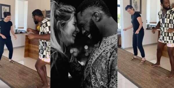 Siya Kolisi's fans react to Racheal's poor dance moves (Video)