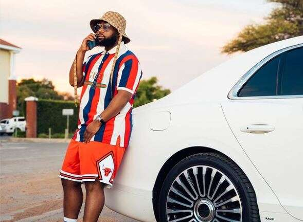 Cassper Nyovest shows off collection of his luxurious cars