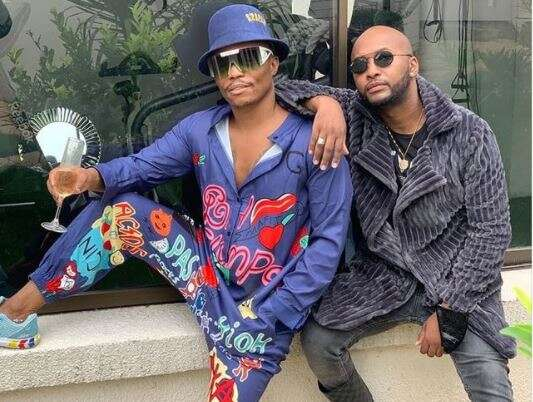 Somizi & Vusi Nova continue to enjoy their time together on vacation