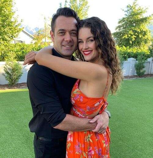 Rolene Strauss pens down sweet message to husband as they celebrate 5th anniversary