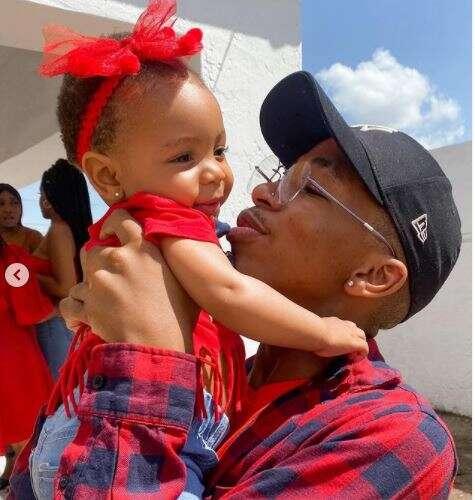 Lasizwe celebrate daughter's first birthday