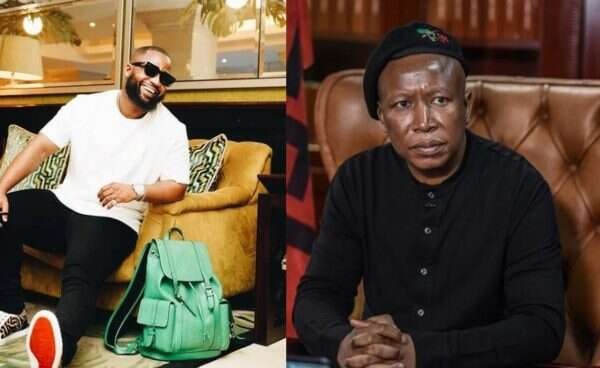 See this ridiculous question Cassper Nyovest asked Julius Malema on Twitter