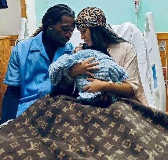 Cardi B & Offset welcome Baby Boy