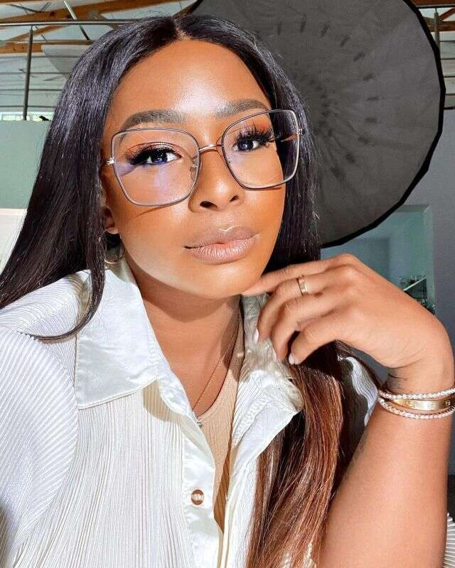 Boity Thulo shows off new spectacles and we all love it