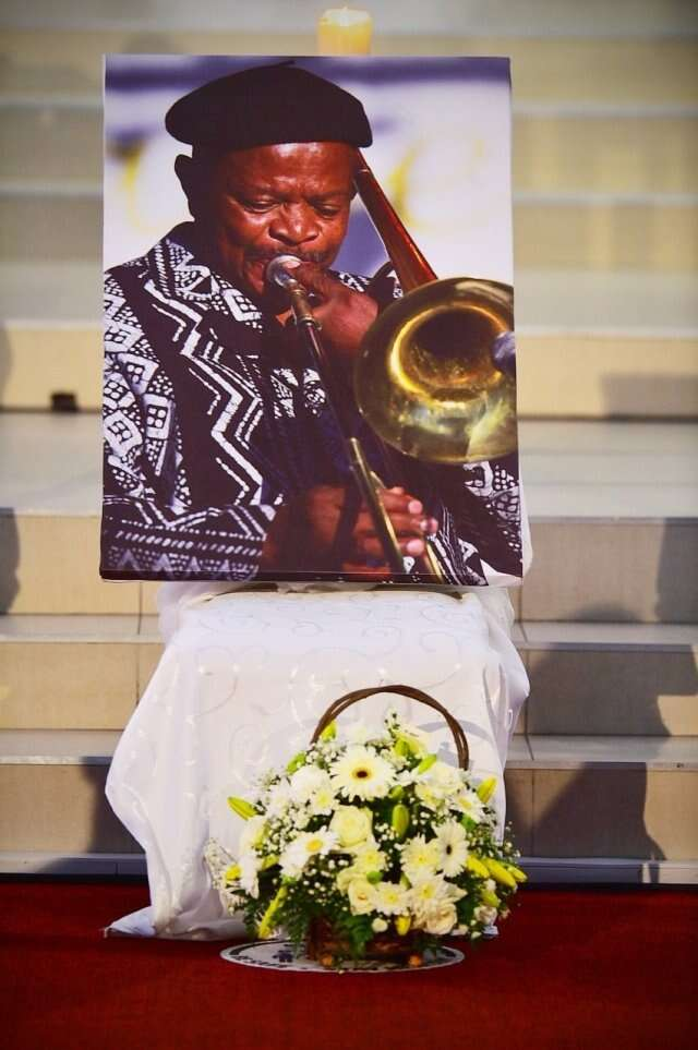 Jazz icon, Jonas Gwangwa finally laid to rest