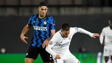 Inter Milan play Real Madrid in the UEFA Champions League Round 4
