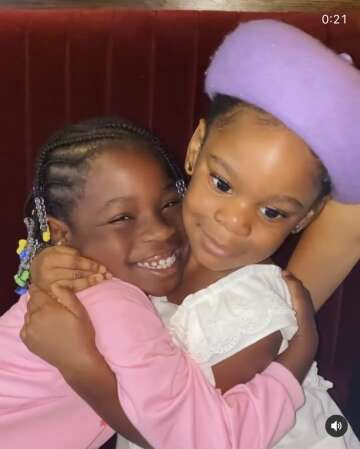 Davido's & Patoranking's daughters spend quality time together (Video)
