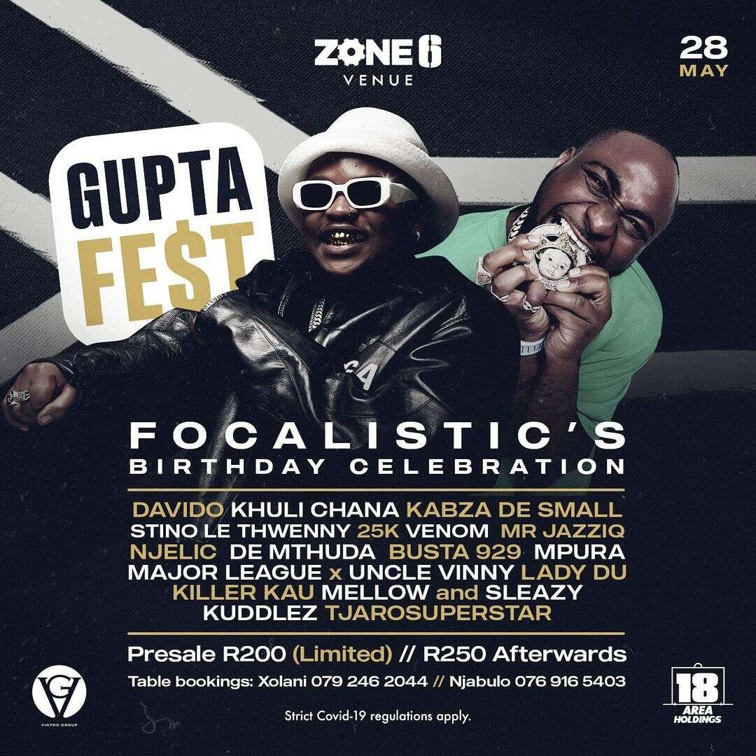 Focalistic sets to hold Gupta Fest with Davido
