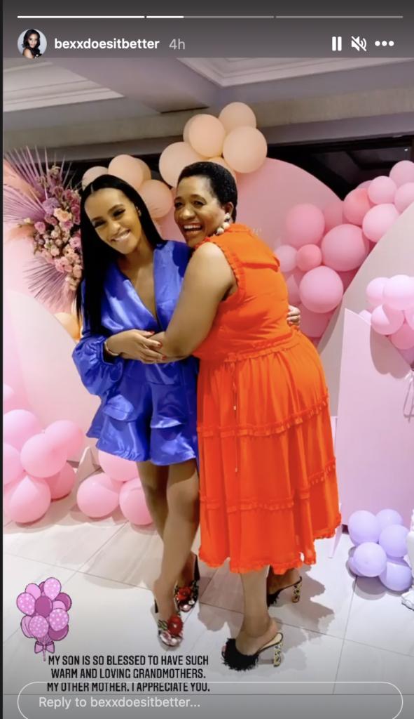 Adorable moment Cassper Nyovest's Mother met the rapper's girlfriend, Thobeka