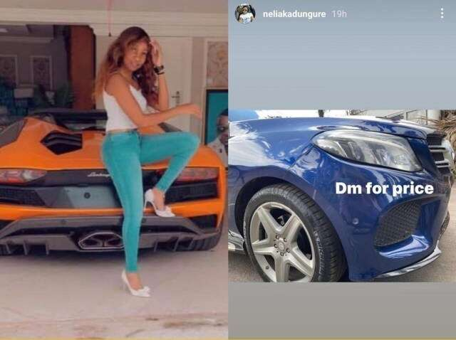 Ginimbi's sister Nelia Kadungure ventures into selling of cars